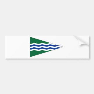Ireland National Yacht Club Ensign Bumper Sticker