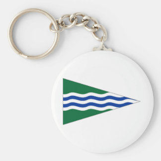 Ireland National Yacht Club Ensign Key Chain