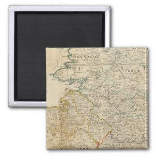 Ireland north 2 inch square magnet