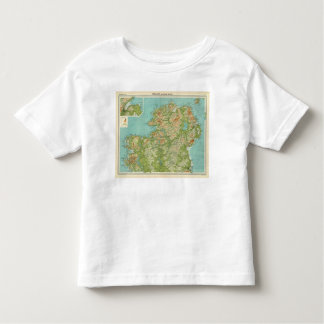 Ireland northern section toddler t-shirt