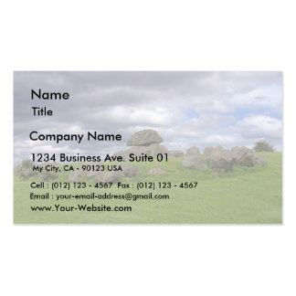 Ireland One Of The Tombs At Carrowmore Business Card