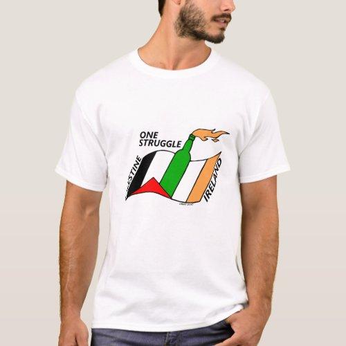 Ireland Palestine One Struggle T_Shirt