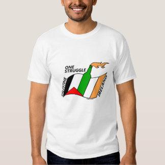 Ireland Palestine One Struggle Tee Shirt