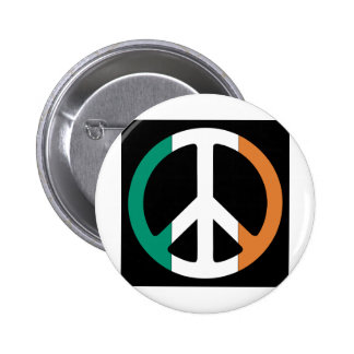 Ireland Peace Flag 2 Inch Round Button