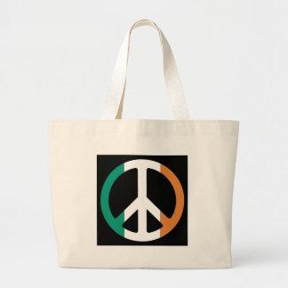 Ireland Peace Flag Canvas Bags