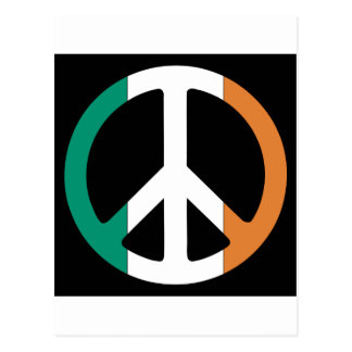 Ireland Peace Flag Postcard