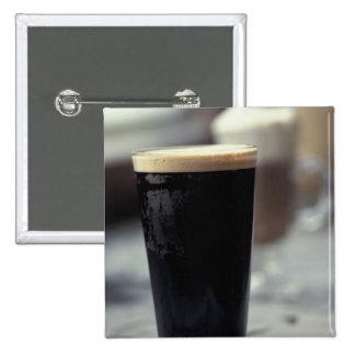 Ireland. Pint of stout. Pins
