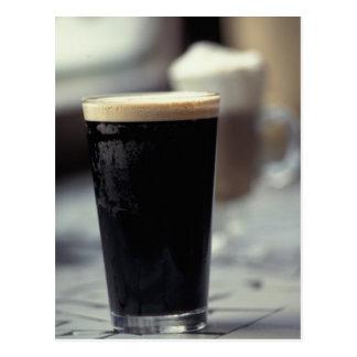 Ireland. Pint of stout. Postcard