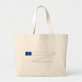 Ireland Racing Flag Canvas Bags