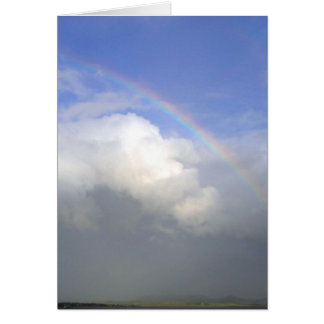 Ireland Rainbows Couds Sky Greeting Cards