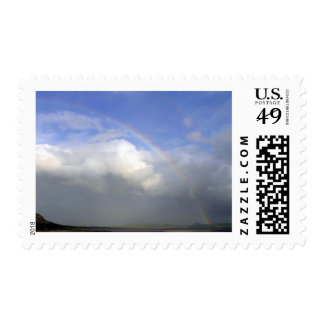 Ireland Rainbows Couds Sky Postage
