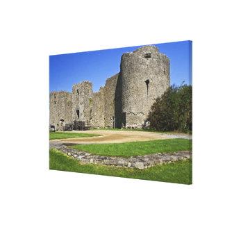 Ireland, Roscommon Castle. View of Canvas Print