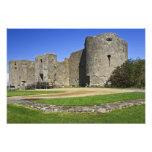 Ireland, Roscommon Castle. View of Photo Art