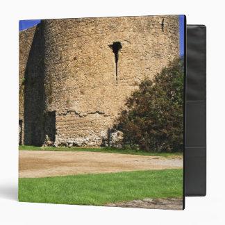 Ireland, Roscommon. View of Roscommon Castle. Vinyl Binder