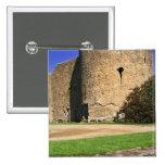 Ireland, Roscommon. View of Roscommon Castle. Pinback Button