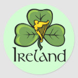 Ireland Round Stickers