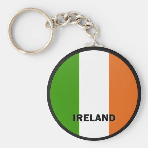 Ireland Roundel quality Flag Key Chain