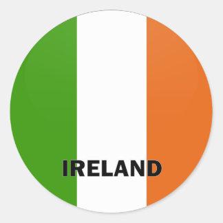 Ireland Roundel quality Flag Stickers