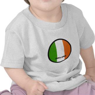 Ireland Roundel quality Flag Tee Shirt