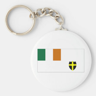 Ireland Royal St George Yacht Club Ensign Keychain
