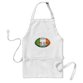 Ireland Rugby Ball Apron