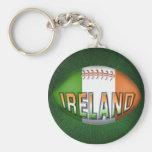Ireland Rugby Ball Keychain