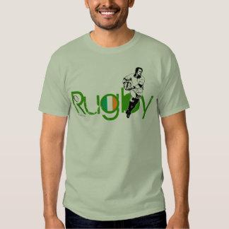 Ireland Rugby Fans T-Shirt Pass Ball