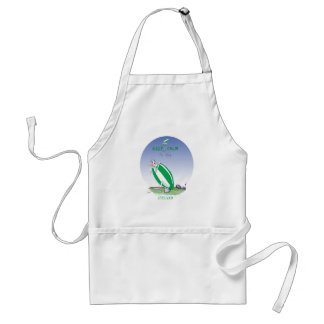 ireland rugby put the boot in, tony fernandes adult apron
