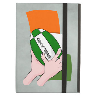 Ireland Rugby Team Supporters Flag With Ball Cover For iPad Air