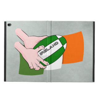 Ireland Rugby Team Supporters Flag With Ball Powis iPad Air 2 Case