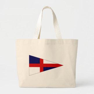 Ireland Sailing Flag Tote Bags