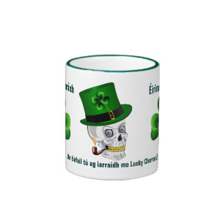 Ireland Saint Patrick Ringer Coffee Mug