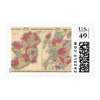 Ireland Scotland Postage