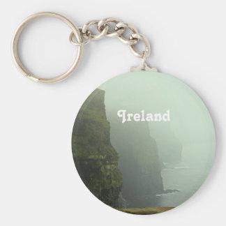 Ireland Sea Cliffs Key Chain
