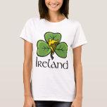 Ireland Shamrock and Harp T-Shirt