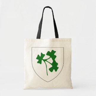 Ireland shamrock badge, Ireland Bags