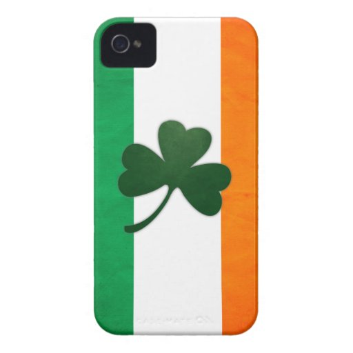 Ireland Shamrock BlackBerry Bold Case