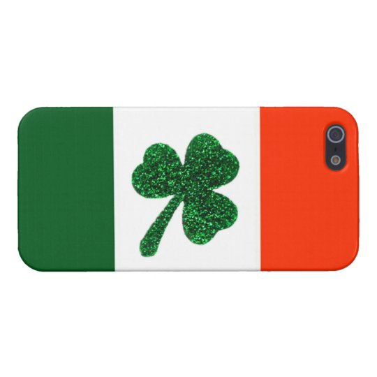 Ireland Shamrock Flag iPhone Case Savvy