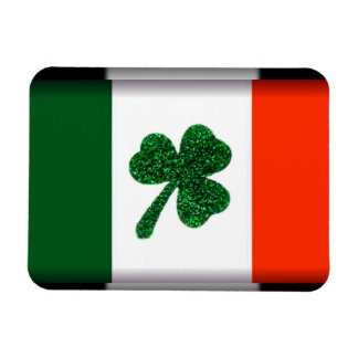 Ireland Shamrock Flag Magnet