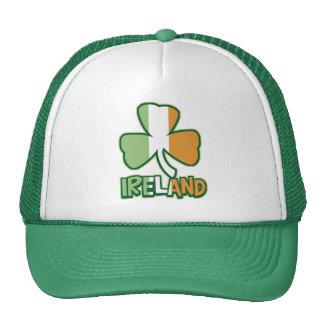 Ireland Shamrock Flag Trucker Hat