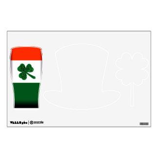 Ireland Shamrock Flag Wall Decals