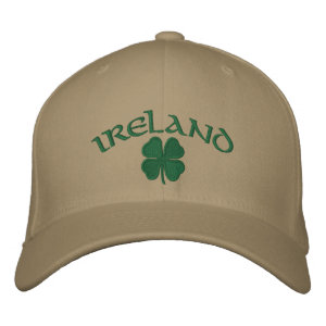 Ireland Shamrock Hat embroideredhat