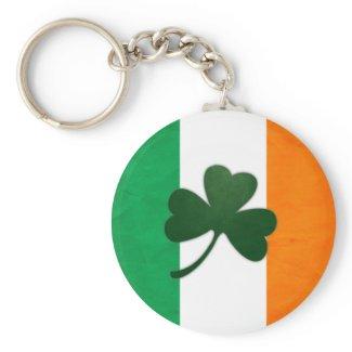 Ireland Shamrock Keychain keychain