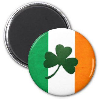 Ireland Shamrock Magnet magnet