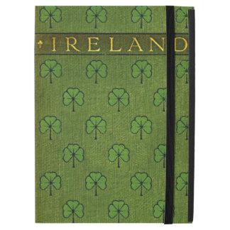 Ireland Shamrock Old Book Cover iPad Pro Case