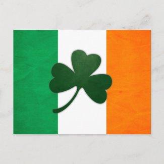 Ireland Shamrock Postcard postcard