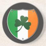 Ireland Shamrock Shield Coaster