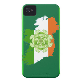 Ireland Shamrock Spin by Kenneth Yoncich Case-Mate iPhone 4 Case