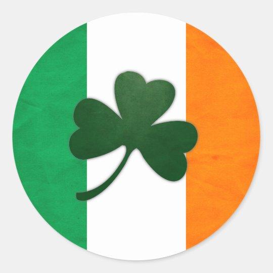 Ireland Shamrock Sticker