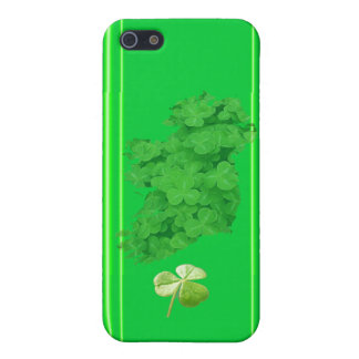 Ireland Shamrock Stripes by Kenneth Yoncich Cover For iPhone SE/5/5s